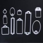 Steel Dies - Labels (10 pcs)