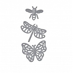 Steel Dies - Butterflies and Insects