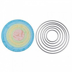 Steel Dies - Circles (Set of 6 dies) (SD-875)