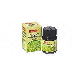 Camel Fount Drawing Ink (black) - 20 ml