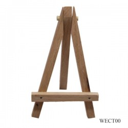 Cute Table Top Wooden Easel (WECT00) - Mini