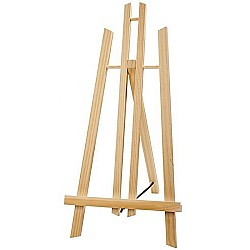 """Tabletop A-Frame Wooden Mini Easel 11.5"""""""