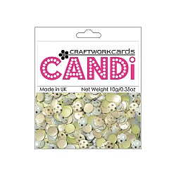 CraftWorkCards Candi Printed Embellishments - Nightingale Square