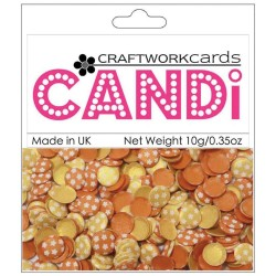 CraftWorkCards Candi Printed Embellishments - Sunset Strip