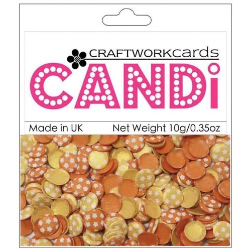 CraftWorkCards Candi Printed Embellishments - Sunset Strip