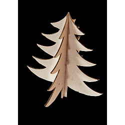 Papericious 3D Chipboards - Christmas Tree
