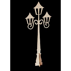 Papericious 3D Chipboards - Lamp Post