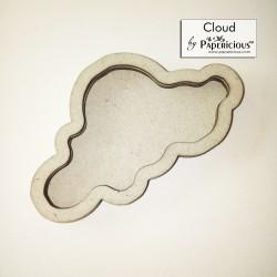 Papericious 3D shaker Chippis - Cloud