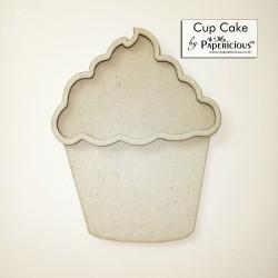 Papericious 3D shaker Chippis - Cupcake