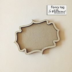 Papericious 3D shaker Chippis - Fancy Tag