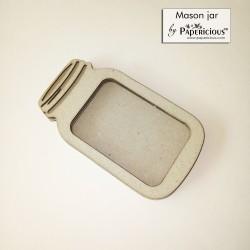 Papericious 3D shaker Chippis - Mason Jar