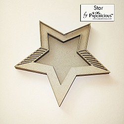 Papericious 3D shaker Chippis - Star