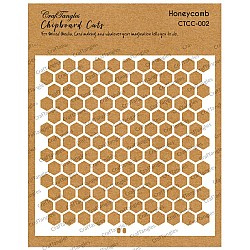CrafTangles Chipboard Cuts - Honeycomb