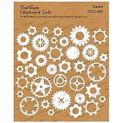 CrafTangles Chipboard Cuts - Gears