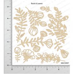 Mudra Chipzeb - Buds and Leaves