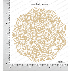 Mudra Chipzeb - Indian Ornate-Mandala