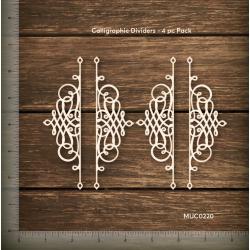 Mudra Chipzeb - Calligraphic dividers