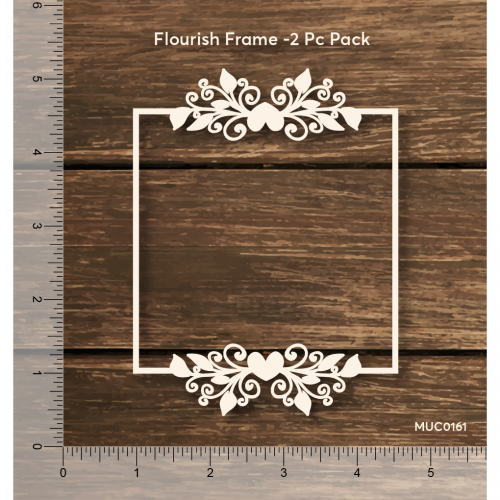 Mudra Chipzeb - Flourish frame