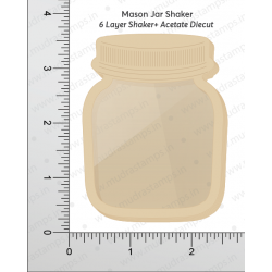 Mudra Chipzeb - Mason jar Shaker