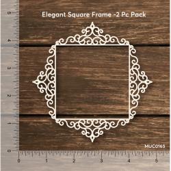 Mudra Chipzeb - Elegant Square Frames