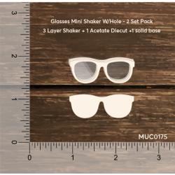 Mudra Chipzeb - Glasses mini shaker without hole