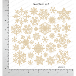 Mudra Chipzeb - Snowflakes