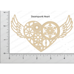 Mudra Chipzeb - Steampunk Heart