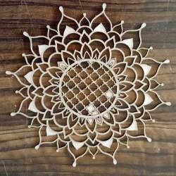 Papericious Chipboard Elements - Mandala 1