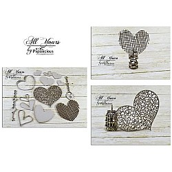 Papericious Collage Chipboard Elements - All Yours