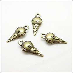 Icecream Cones Metal Charms (Set of 5 pcs) - Food themed