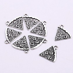 Pizza Metal charm - pack of 5