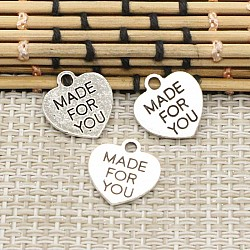 Made for You metal charms - pack of 10