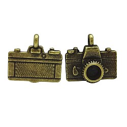 Camera (Design2) metal charms - pack of 10