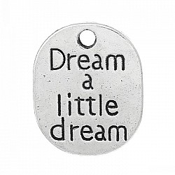 Dream a Little Metal Charms (Set of 2 pcs)