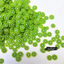 Shaker Elements or Clay Sprinkles - Kiwi