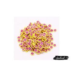 Shaker Elements or Clay Sprinkles - Pink Lemons