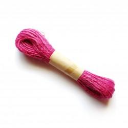 Colored Jute Twine - Dark Pink