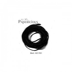 Papericious Jute Cord - Black