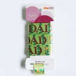 Sewrite Ribbon  - Dad (Green)