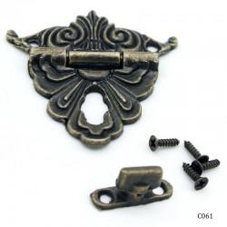 Decorative Metal Locks for Mini Album - Fancy (C061)