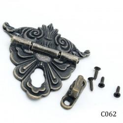 Decorative Metal Locks for Mini Album - Fancy (C062)