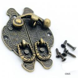 Decorative Metal Locks for Mini Album - Fancy (C065)