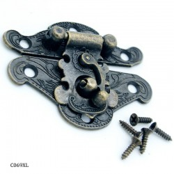 Decorative Metal Locks for Mini Album - Extra Large (C069XL)