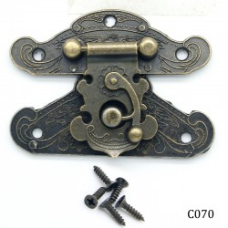 Decorative Metal Locks for Mini Album - Fancy (C070)