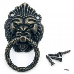 Lion Metal Knobs for Box
