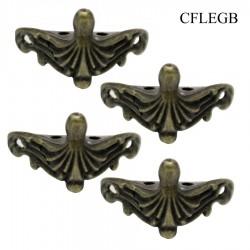 Metal Decorative Feets/ Foundations (CFLEGB) (Set of 4 pcs)