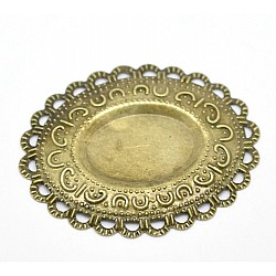Oval metal filigree for Mini Album (Set of 10 pcs)