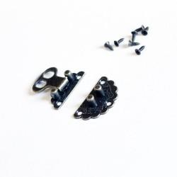 Decorative Metal Locks for Mini Album - Small (C625)