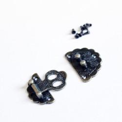 Decorative Metal Locks for Mini Album - Large (C626)