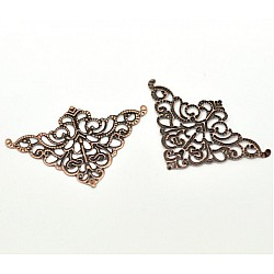 Metal Filigree Corners for Mini Album (Set of 20 pcs)